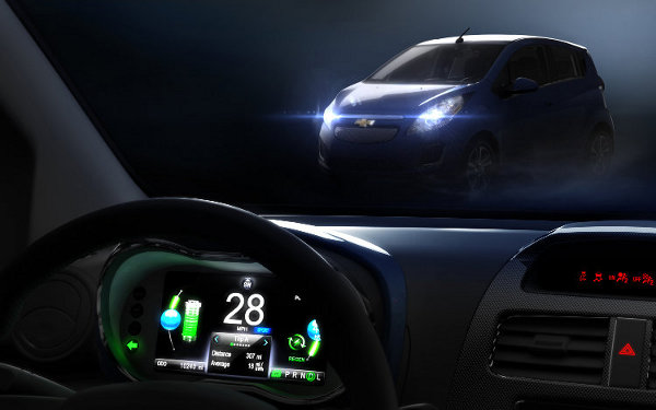 Chevrolet Spark electric - interior