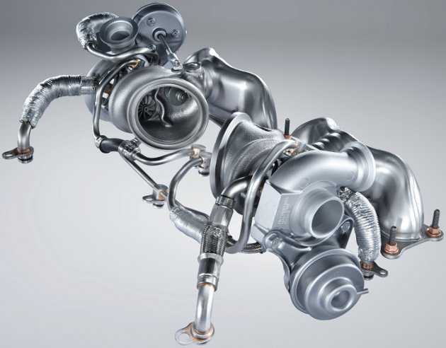 Turbocompresoare motor twin turbo L6